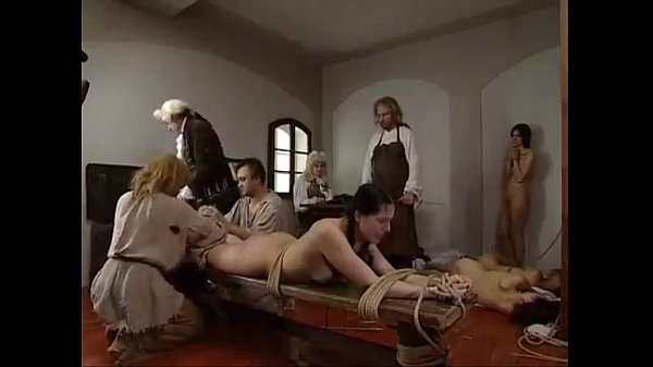 Three girl hard punishment