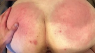 PAWG Gets Roughly Spanked And Fuck, Then Gets Huge Facial