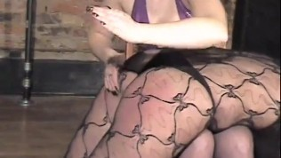 Girl servant getting spanked by her master – Dungeon VIP