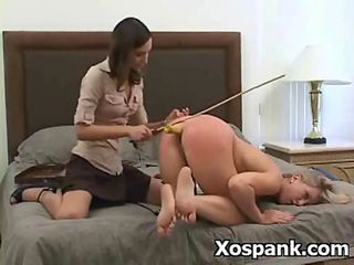 Cruel Extreme Spanking Roleplay between some spicy lesbians