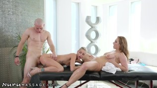 New Masseuse Loves Cum-Swapping